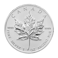 1 oz 2013 Canadian Maple Leaf Silver Coin
