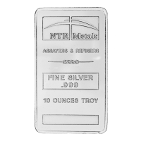 10 oz New NTR Silver Bar