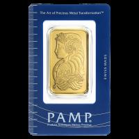 1 oz Goldbarren PAMP Suisse