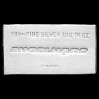 100 oz Engelhard Silberbarren
