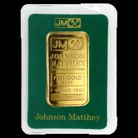Barra de Oro Johnson Matthey de 1 oz