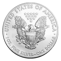 1 oz Pre-owned American Eagle Silver Coin