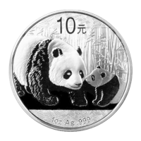 1 oz 2011 Chinese Panda Silver Coin