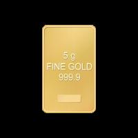 5 g ausgewähltes Gold