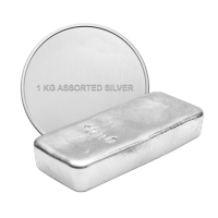 1 kg Pure Assorted Silver Bullion