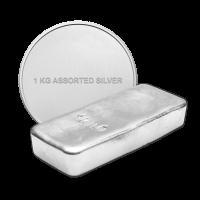 1 kg | kilo Pure Assorted Silver Bullion