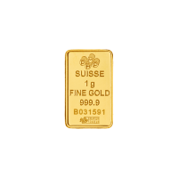 1 g Pamp Suisse Gold Wafer Bar