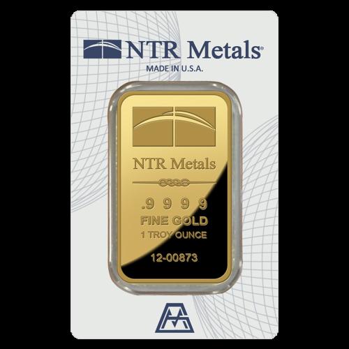 NTR Logo - NTR Metalle - .9999 - Feingold - 1 Feinunze - Seriennummer