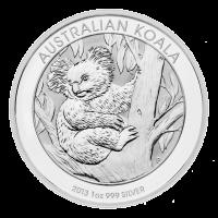 1 oz 2013 Australian Koala Silver Coin