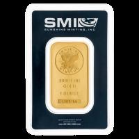 Barra de Oro de la Casa de la Moneda Sunshine de 1 oz