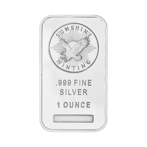 Sunshine Minting logo - .999 Fine Silver - 1 Ounce