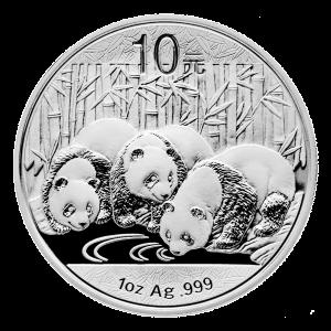 1 oz 2013 Chinese Panda Silver Coin