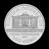 1 oz Silbermünze - Wiener Philharmoniker - Zufallsjahr