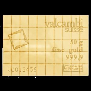 50 gram (50 x 1 g) Valcambi Gold CombiBar