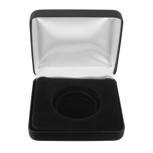Leatherette Coin Display Box - 1 coin
