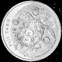 5 oz Silbermünze - Fidschi Taku - 2013