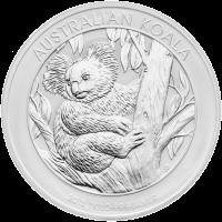 Moneda de Plata Koala Australiano 2013 de 1 kilo