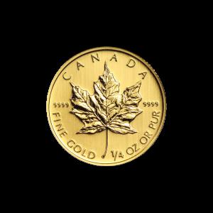 1/4 oz Random Year Canadian Maple Leaf Gold Coin