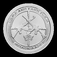 1 oz 2013 AG-47 Silver Round