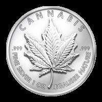1 oz 2013 Cannabis Silver Round