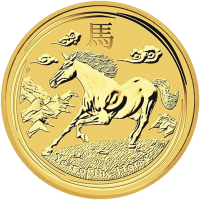 1 oz 2014 Lunar Year of the Horse Perth Mint Gold Coin