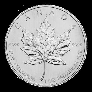 1 oz Random Year Canadian Maple Leaf Palladium Coin