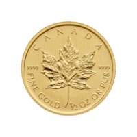 1/2 oz 2014 Canadian Maple Leaf Gold Coin