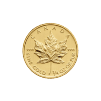 1/4 oz 2014 Canadian Maple Leaf Gold Coin