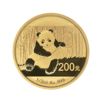 1/2 oz 2014 Chinese Panda Gold Coin