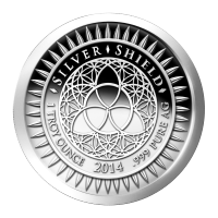 1 oz 2014 New Year's Silver Proof-like Round