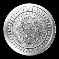 1 oz 2014 New Year's Silver Round