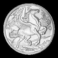 1 oz 2013 Pegasus Silver Round