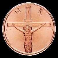 1 oz 2014 Crucifixion Copper Round