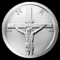2 oz 2014 Crucifixion Silver Round