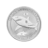1/2 oz 2014 Australian Great White Shark Silver Coin