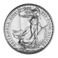 Moneda de Plata Britannia 2014 de 1 oz