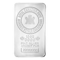 10 oz New Royal Canadian Mint Silver Bar