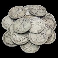 Bolsa de Monedas 90% de Pura Plata de circulación en Estados Unidos de 10$ de Valor nominal