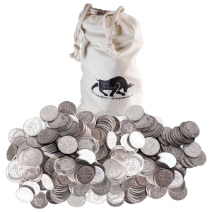 $100 Face Value Bag of U.S. Circulation 90% Pure Silver Coins