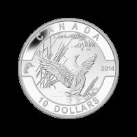 1/2 oz 2014 O Canada Series - Canada Goose Silver Coin
