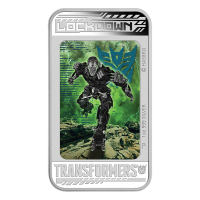 1 oz 2014 Transformers: Age of Extinction - Lockdown Silver Proof Coin