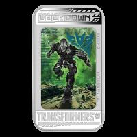 Transformers 2014 de 1 Oz: Era de la Extinción – Moneda de Plata Lockdown