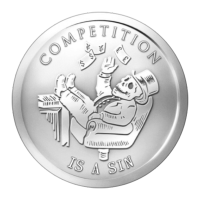 1 oz 2014 Competition is a Sin | Bankster Series Silver Round