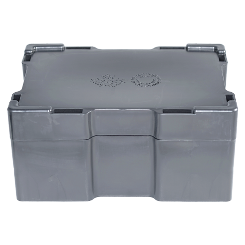 Empty Black Monster Box for 10 oz RCM Silver Bars