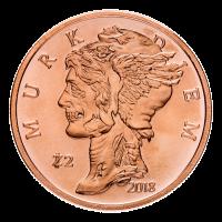 1 oz Zombucks Murk Diem Copper Round