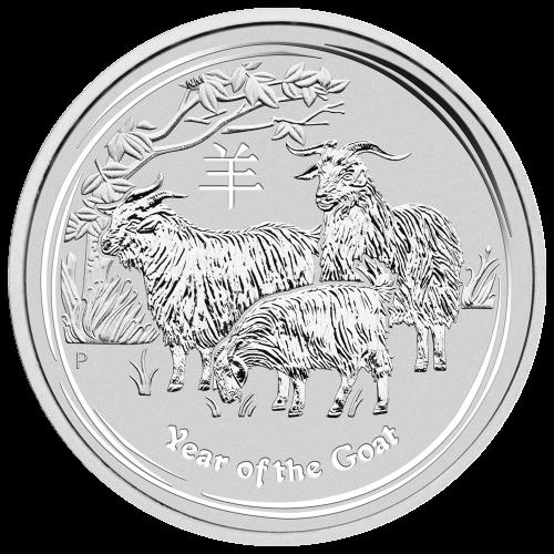 "Effigy of Queen Elizabeth II with the words ""Elizabeth II Australia 10 Dollars 10 oz 999 Silver 2015"""