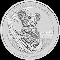 Moneda de Plata Koala Australiano 2015 de 1 kilo