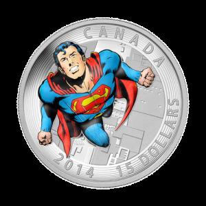 3/4 oz 2014 Superman™ Comic Book Covers: Action Comics #419 Silver Coin