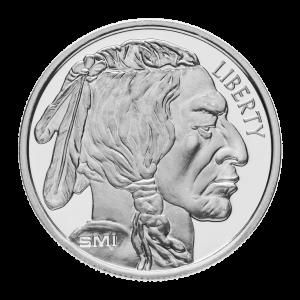 1 oz SMI Buffalo Silver Round