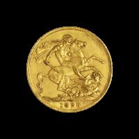 1/4 oz Goldmünze - Herrscher - Zufallsjahr